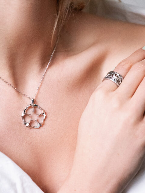 Freedom ring and pendant