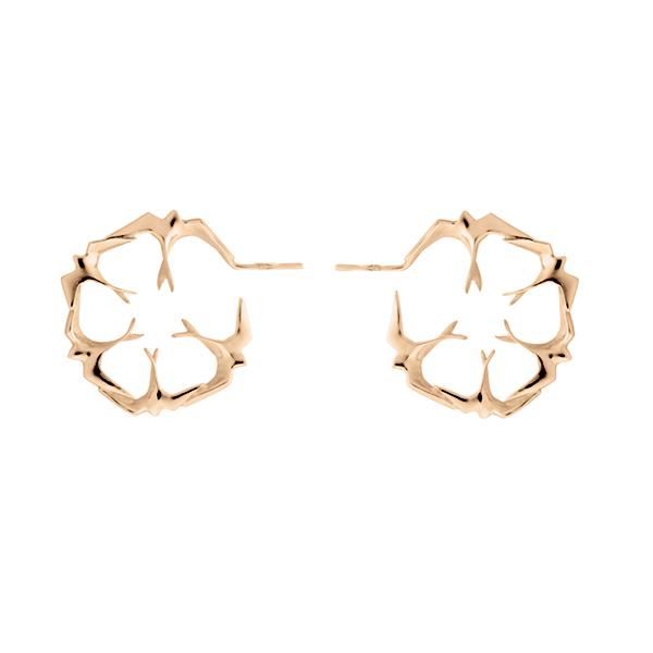 Freedom hoop earrings