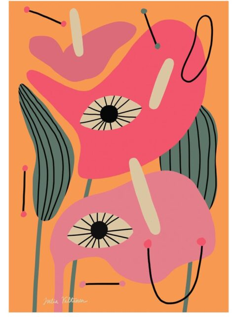 Julia Valtanen FLAMINGOFLOWER